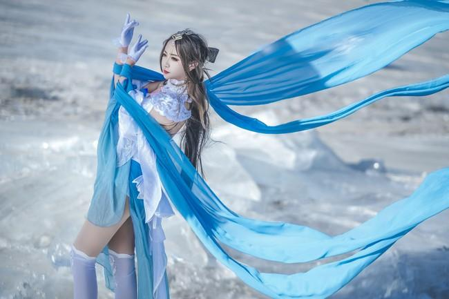 《楚留香手游》云梦小姐姐COS欣赏,冷酷师姐真的好美呀!