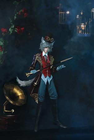 《第五人格》摄影师约瑟夫 月下绅士时装cos欣赏